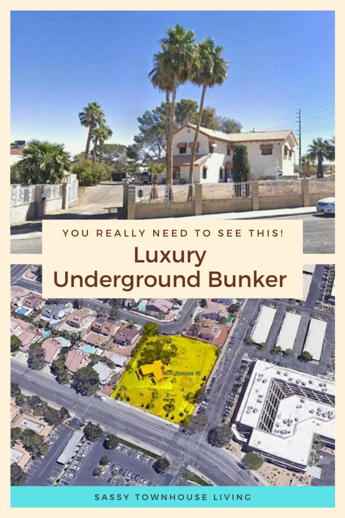Luxury Underground Bunker - You Really Need To See This - Sassy Townhouse Living