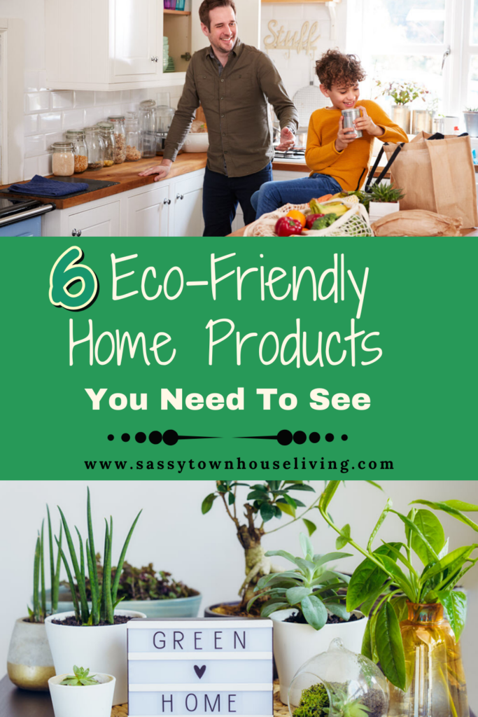6 Eco-Friendly Home Products You Need To See - Sassy Townhouse Living