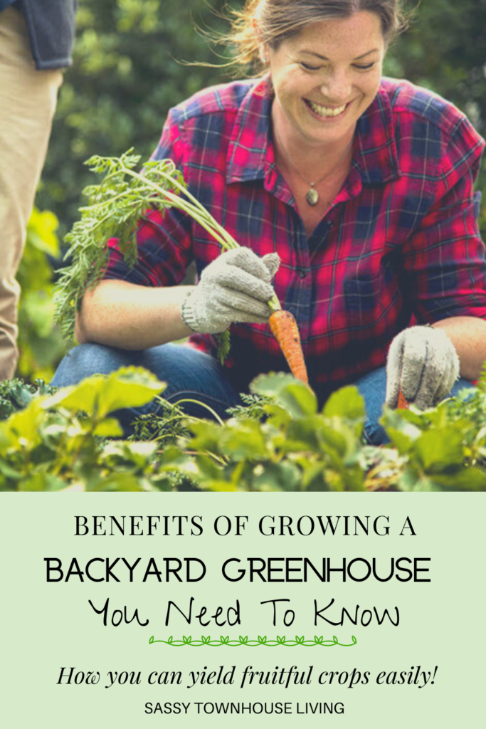 Benefits Of Growing A Backyard Greenhouse You Need To Know - Sassy Townhouse Living
