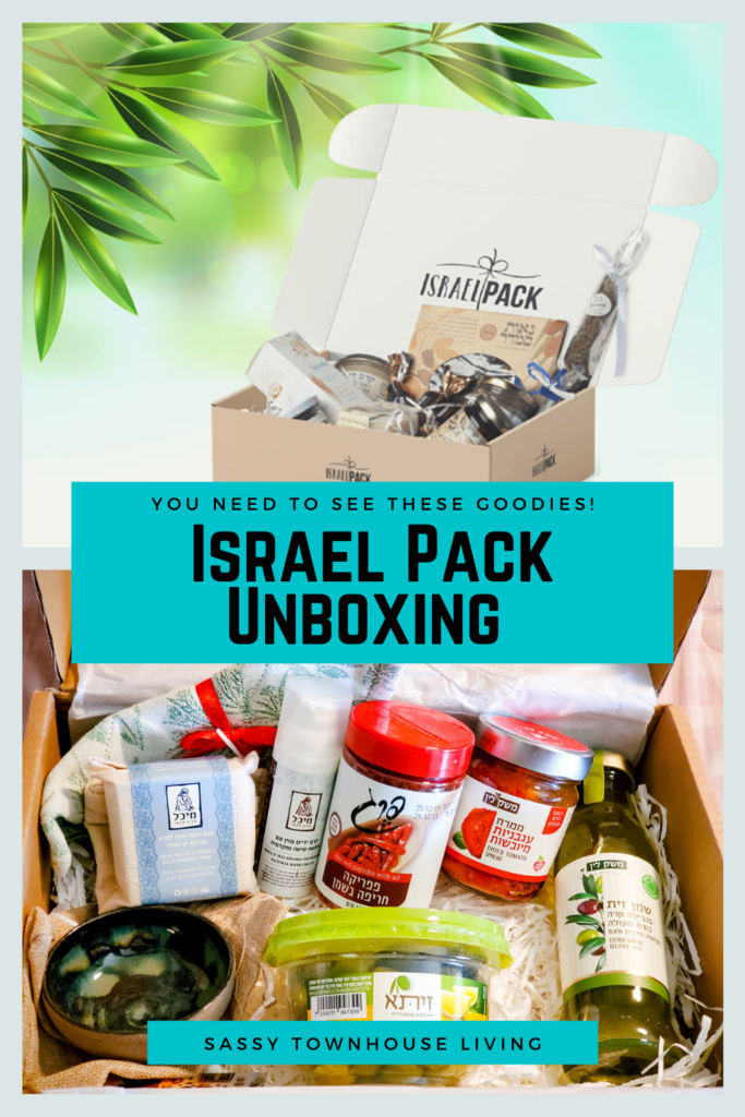 Israel Pack Unboxing - You Need To See These Goodies - Sassy Townhouse Living