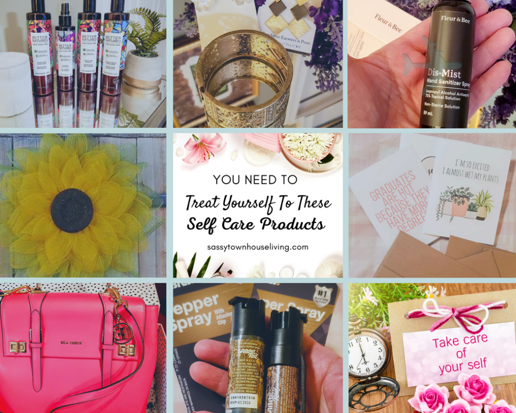 Treat Yourself Self Care Products
