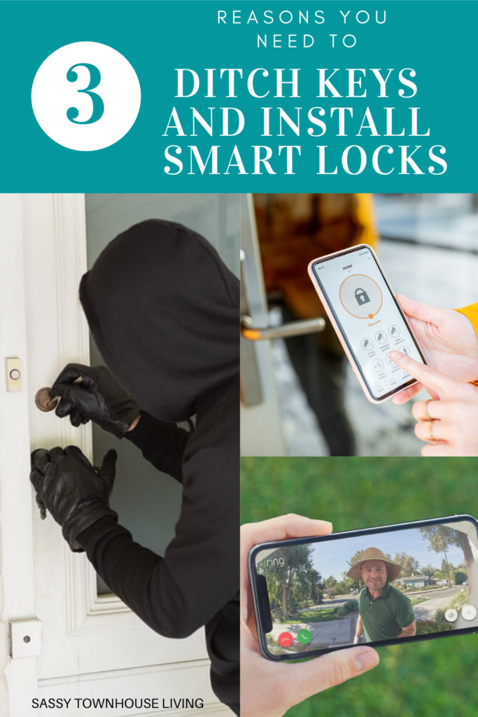 3 Reasons You Need To Ditch Keys And Install Smart Locks - Sassy Townhouse Living