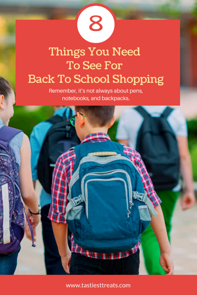 8 Things You Need To See For Back To School Shopping - Sassy Townhouse Living