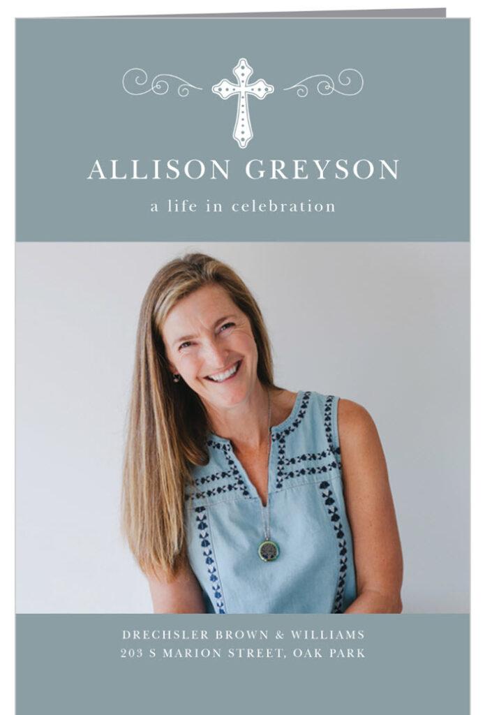 Celebration Of Life Invitations