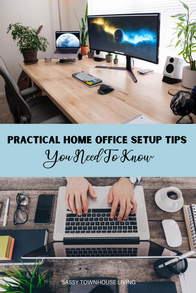 Effective Home Office Setup Tips You Need To Know_Sassy Townhouse Living