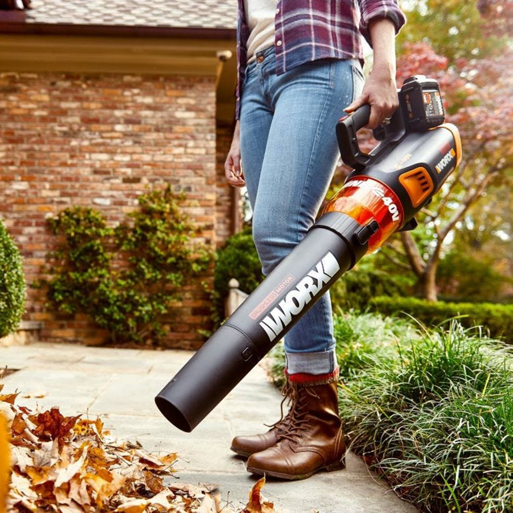 Lawn Maintenance Worx Cordless Leaf Blower