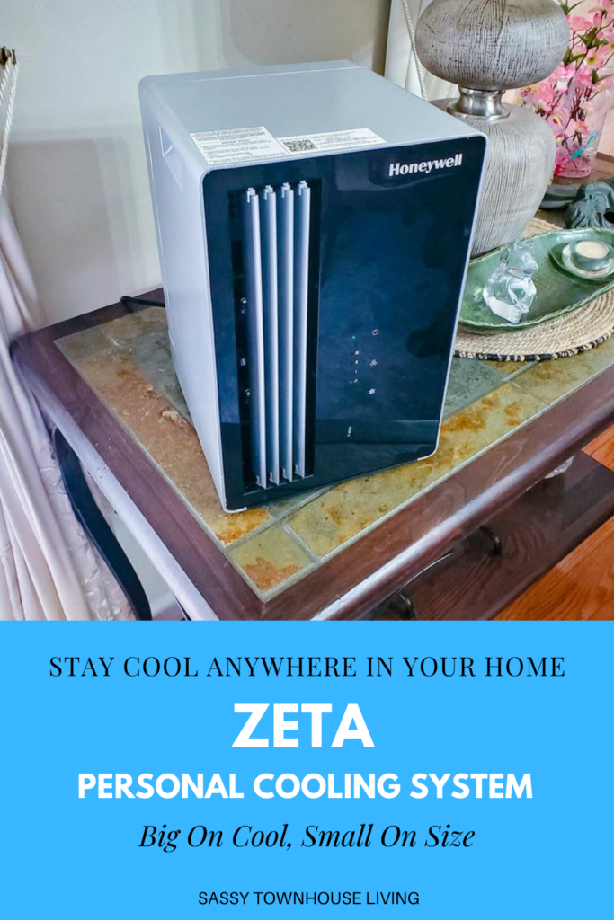 ZETA Personal Cooling System - Big On Cool, Small On Size - Sassy Townhouse Living