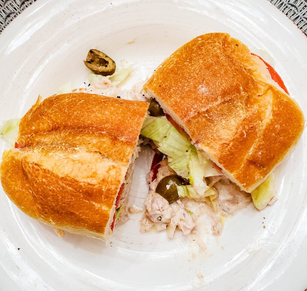 Loaded Tuna Salad Sandwich
