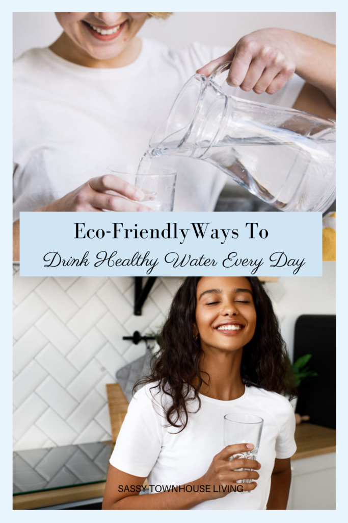 Eco-Friendly Ways To Drink Healthy Water Every Day - Sassy Townhouse Living