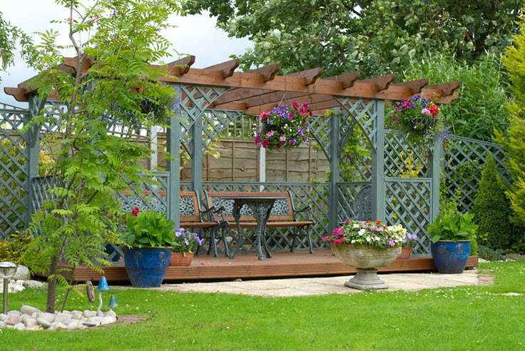 How To Decorate A Backyard Pergola With Style & Flair