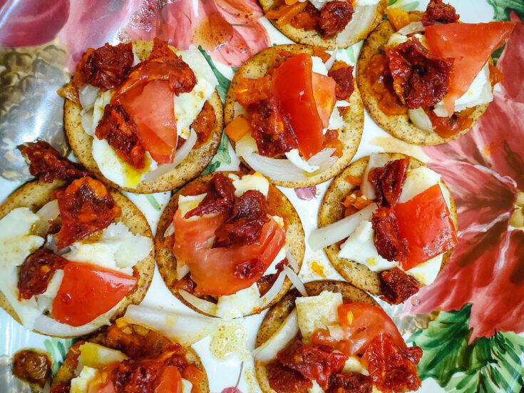 Sun-Dried Tomatoes Italian Feast Appetizer