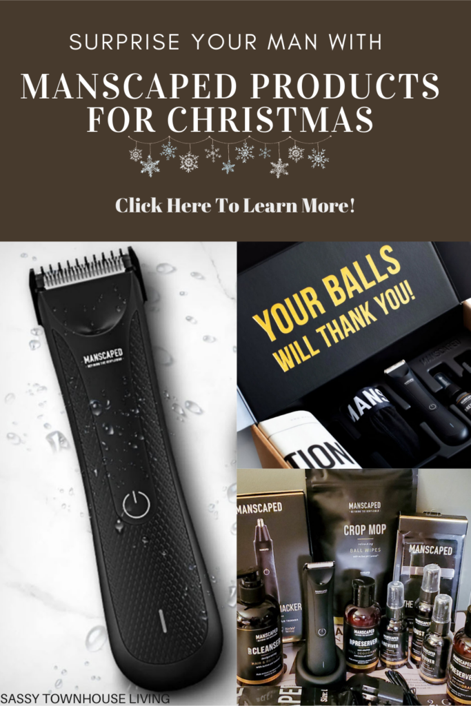 Surprise Your Man With MANSCAPED Products For Christmas - Sassy Townhouse Living