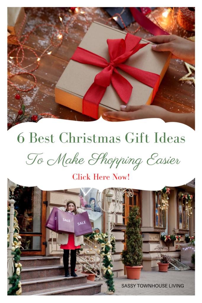 6 Best Christmas Gift Ideas To Make Shopping Easier - Sassy Townhouse Living
