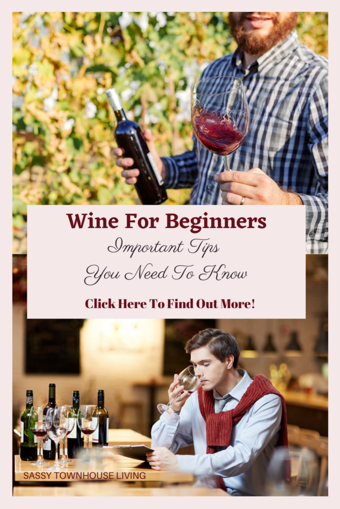 Wine For Beginners Important Tips You Need To Know - Sassy Townhouse Living