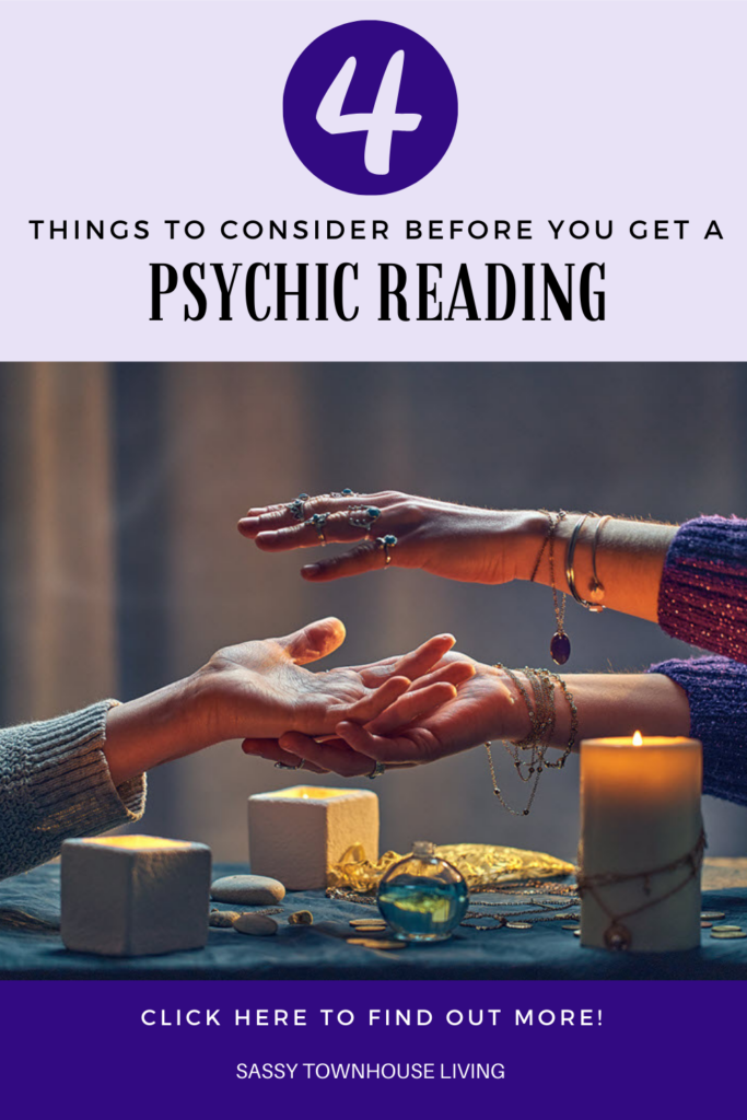 4 Things To Consider Before You Get A Psychic Reading - Sassy Townhouse Living