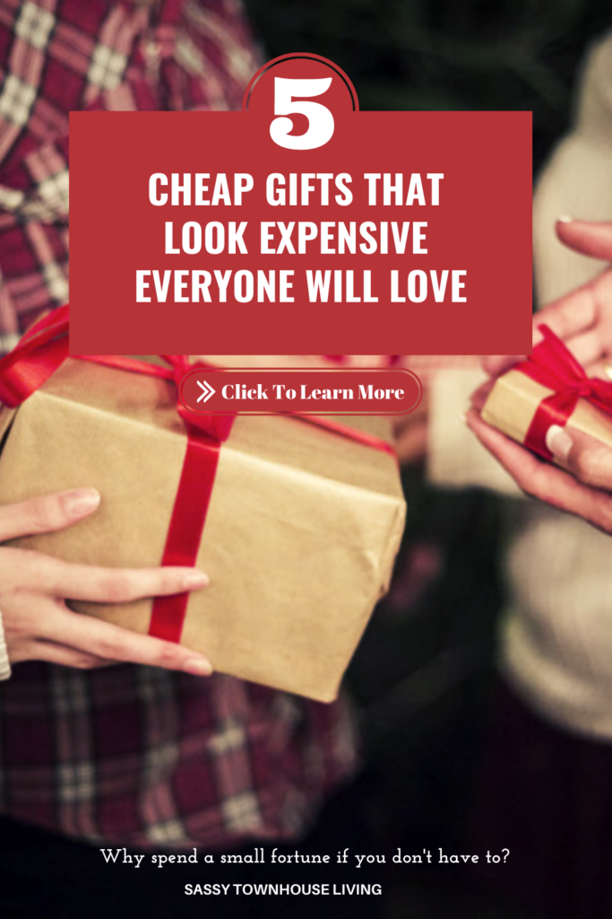 5 Cheap Gifts That Look Expensive Everyone Will Love - Sassy Townhouse Living