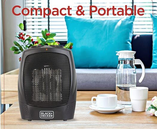 BLACK+DECKER Personal Ceramic Heater - On Sale!