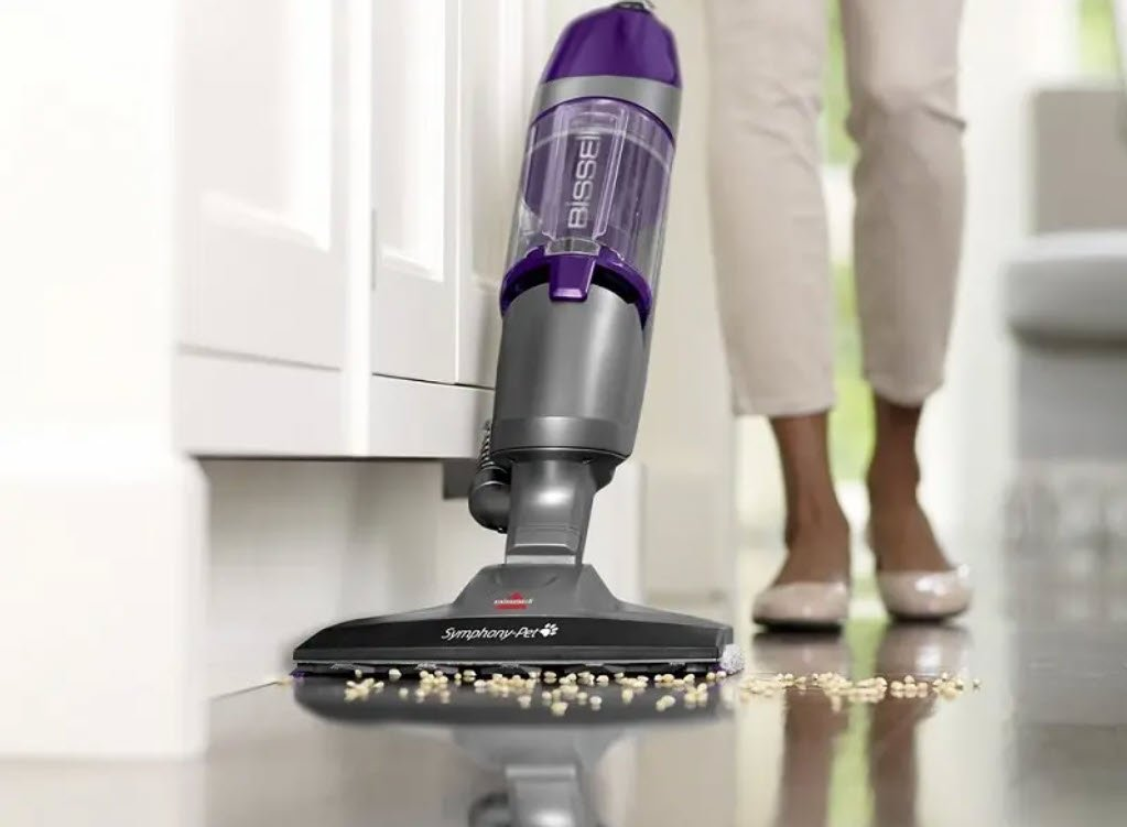 Bissell Symphony Pet Steam Mop and Steam Vacuum Cleaner