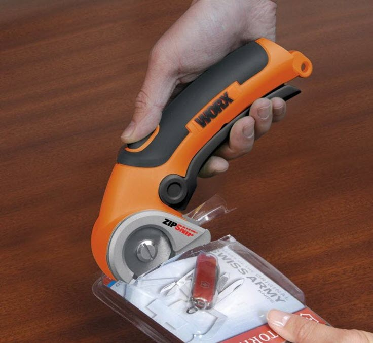 You Need To See These WORX Zipsnip Cordless Electric Scissors