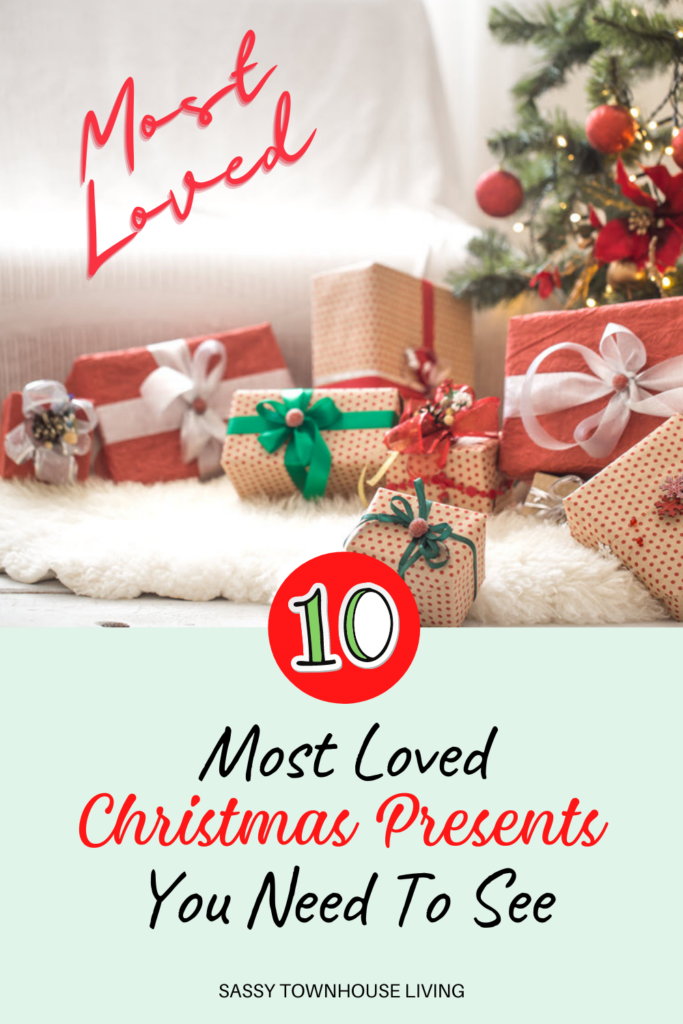 10 Most Loved Christmas Presents You Need To See - Sassy Townhouse Living