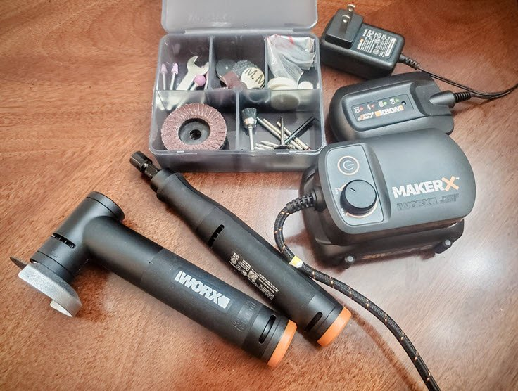 Love Crafting Tools? You Need To See The WORX MAKERX Combo Kit