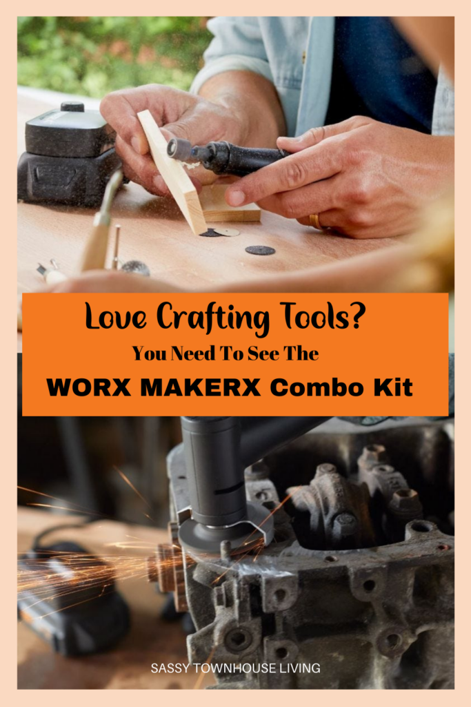 Love Crafting Tools - You Need To See The Worx MAKERX Combo Kit - Sassy Townhouse Living