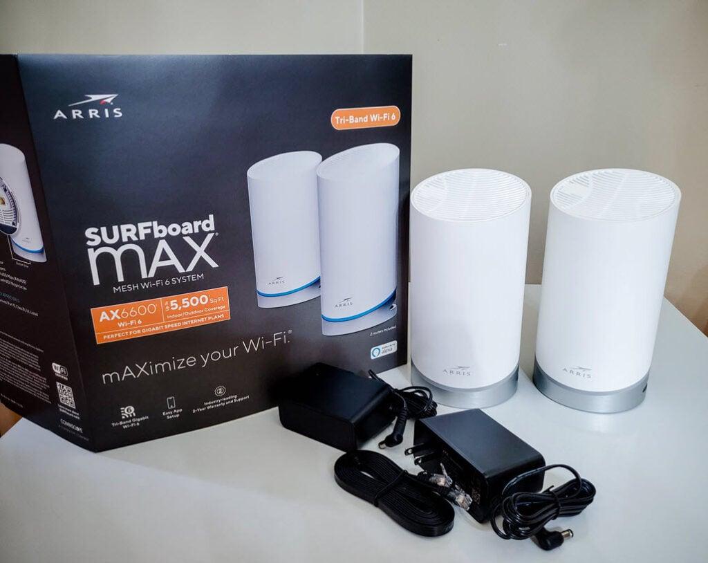 SURFboard mAX Wi-Fi 6 Mesh System