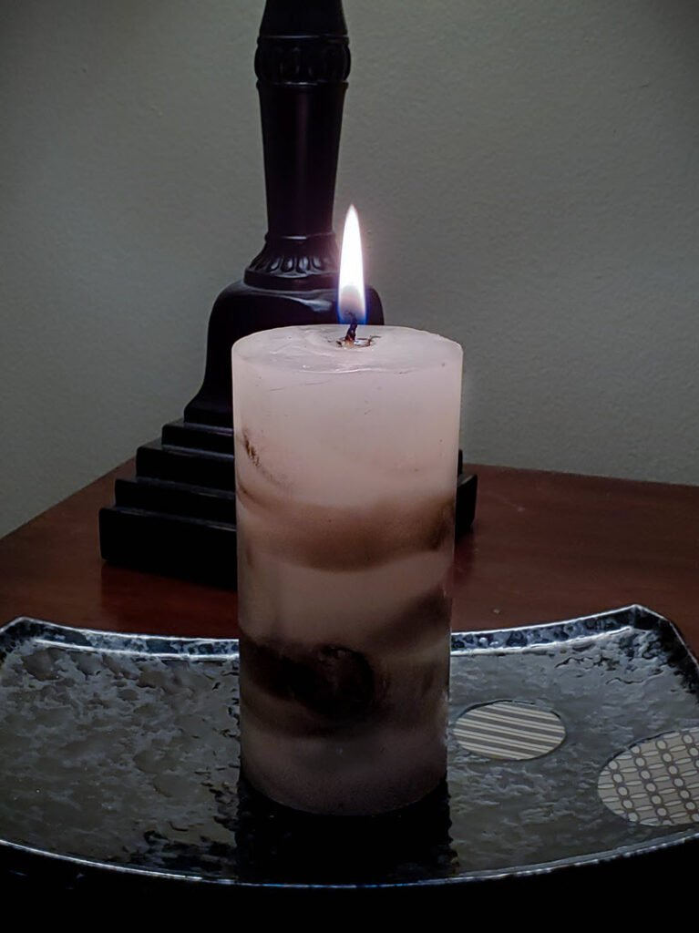 Marble Candles