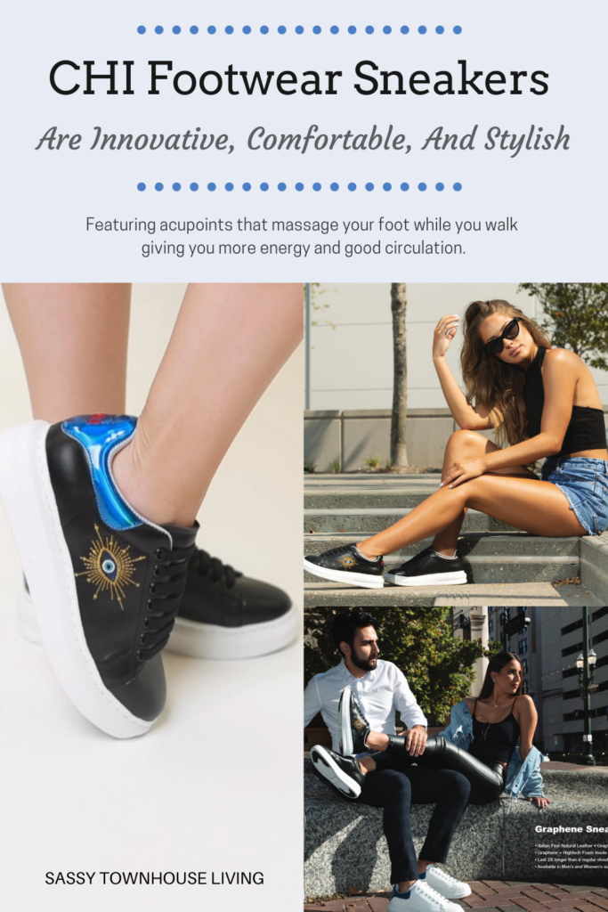 CHI Footwear Sneakers Are Innovative, Comfortable, And Stylish - Sassy Townhouse Living