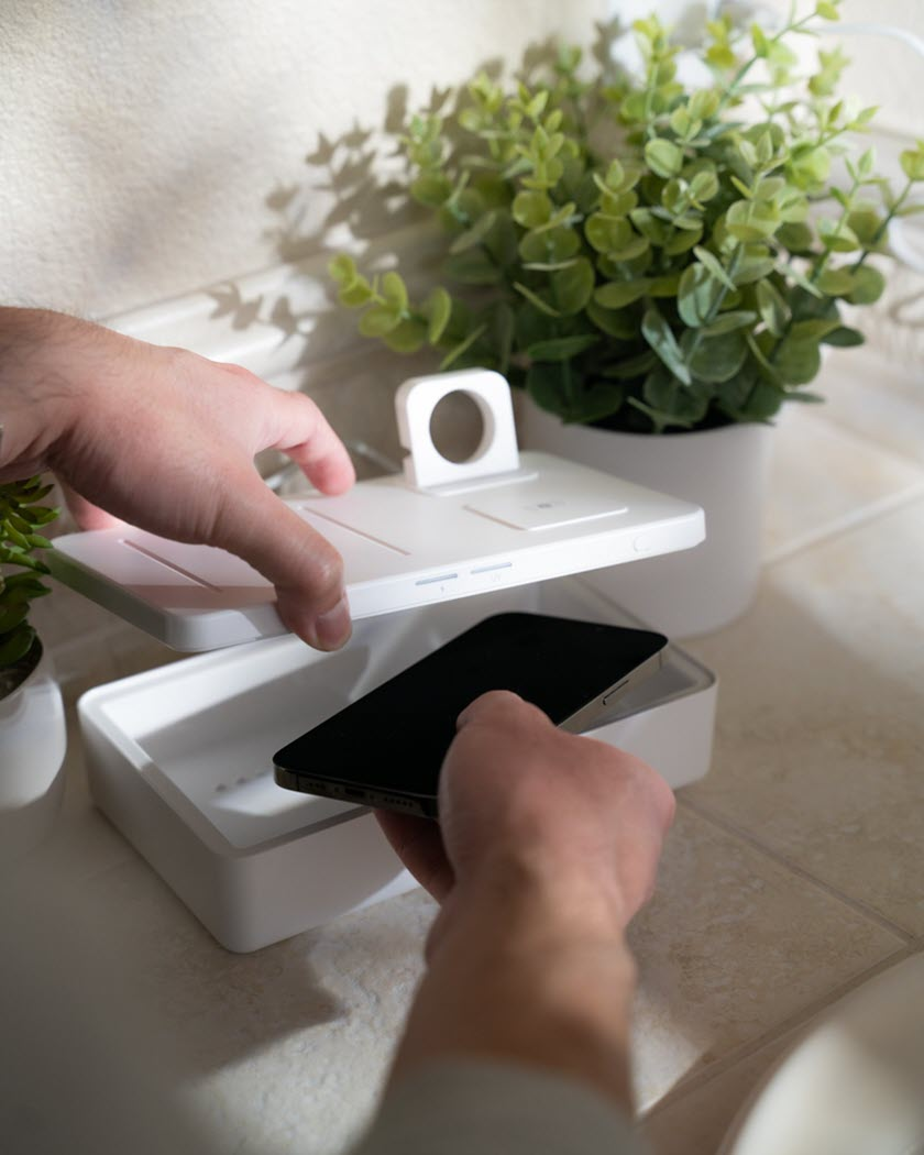 This UV-C Light Sanitizer Will Kill Germs On Your Devices