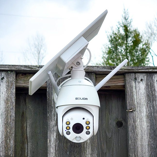 Why You Need The Solar Powered Soliom Wireless Security Camera