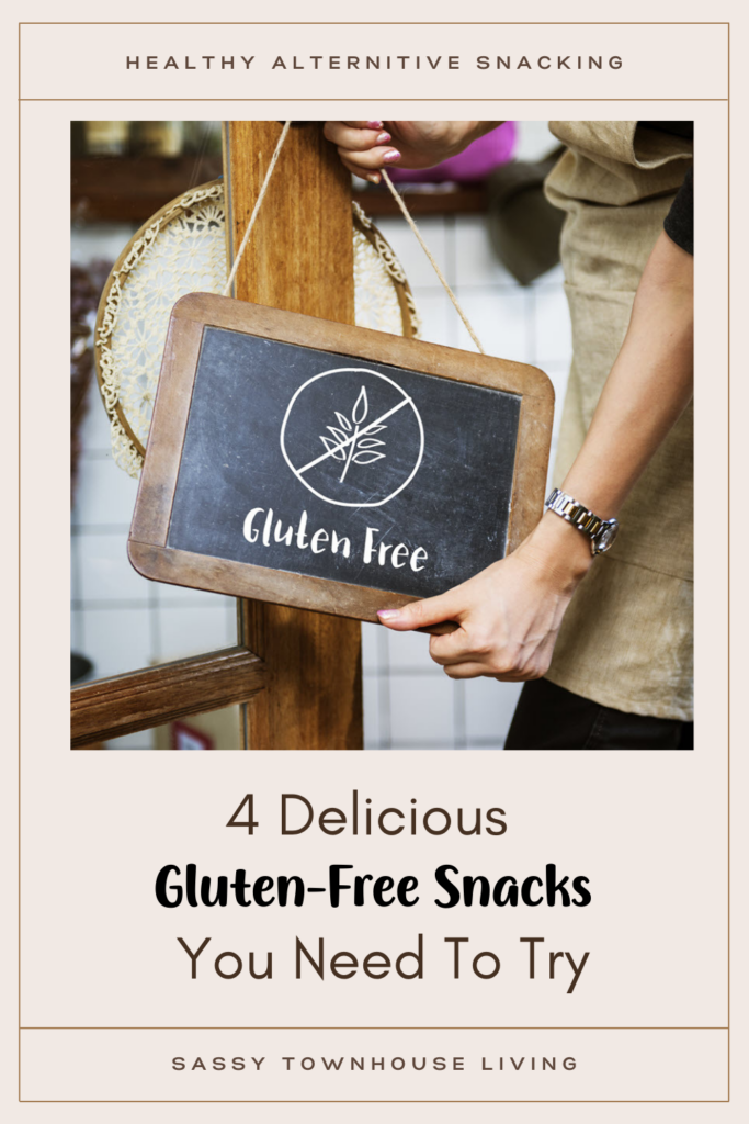 4 Delicious Gluten-Free Snacks You Need To Try - Sassy Townhouse Living
