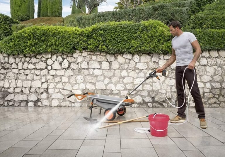 Why Your Home Needs The WORX Hydroshot Portable Power Cleaner