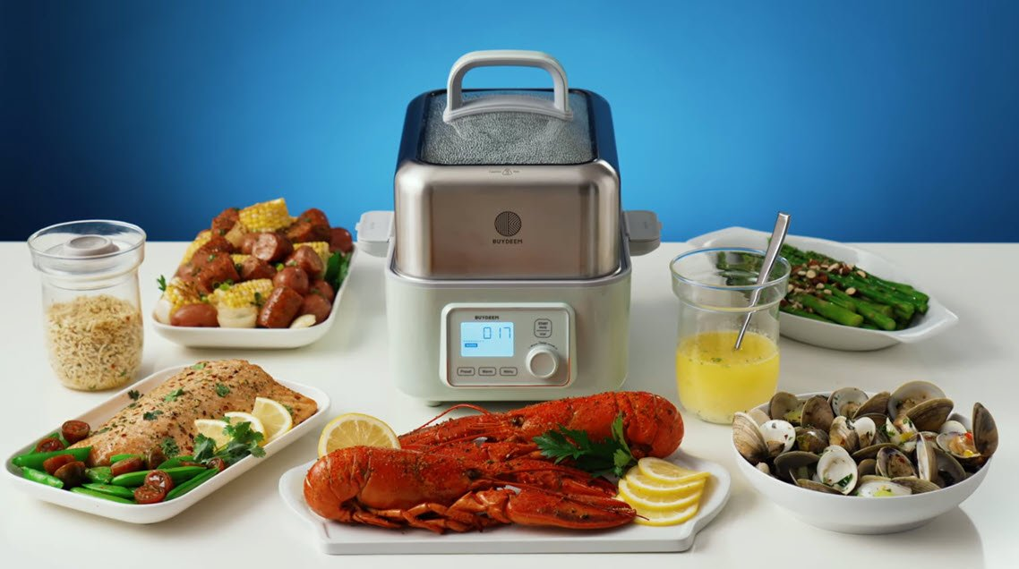 How To Eat Healthier With An Electric Food Steamer