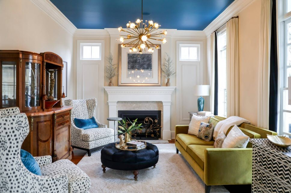 See Why Beautiful Statement Ceilings Are Replacing Accent Walls