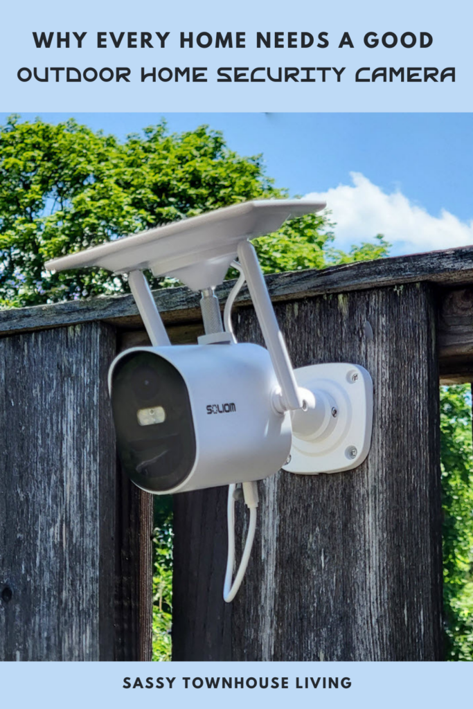 Why Every Home Needs A Good Outdoor Home Security Camera - Sassy Townhouse Living
