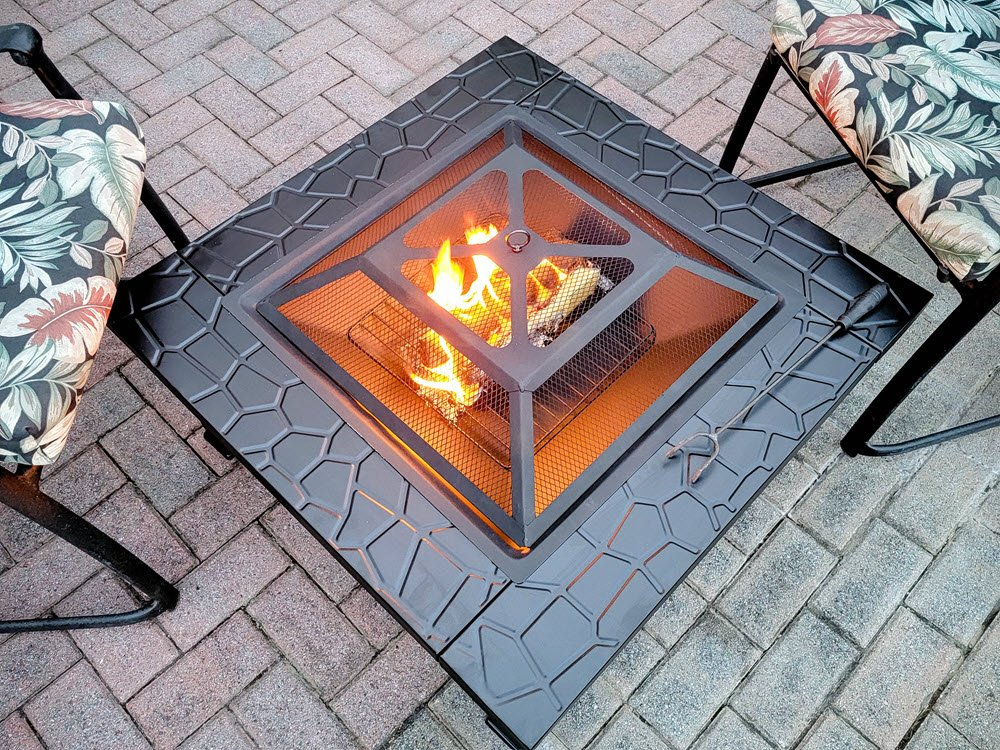 How This Beautiful Backyard Fire Pit Created A Cozy Retreat