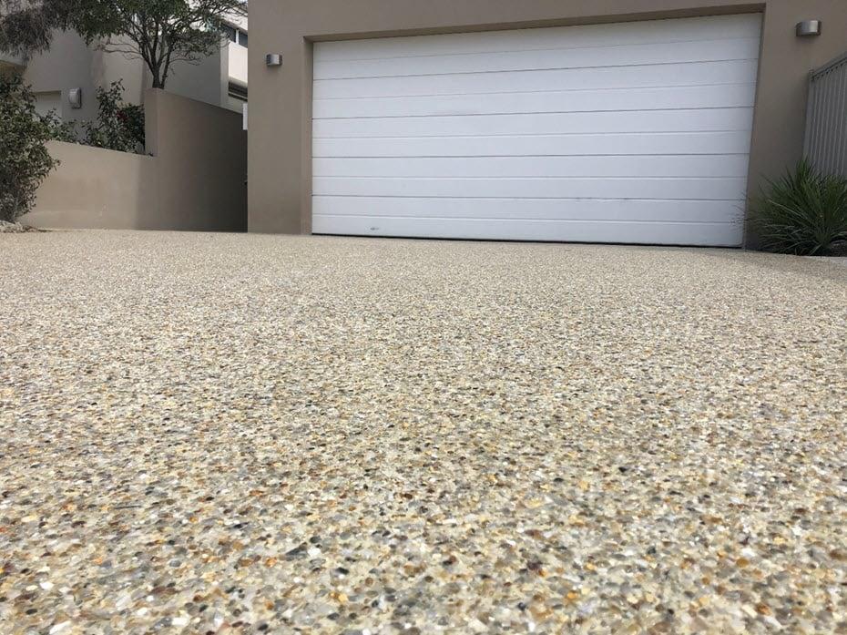 Decorative Concrete Driveway