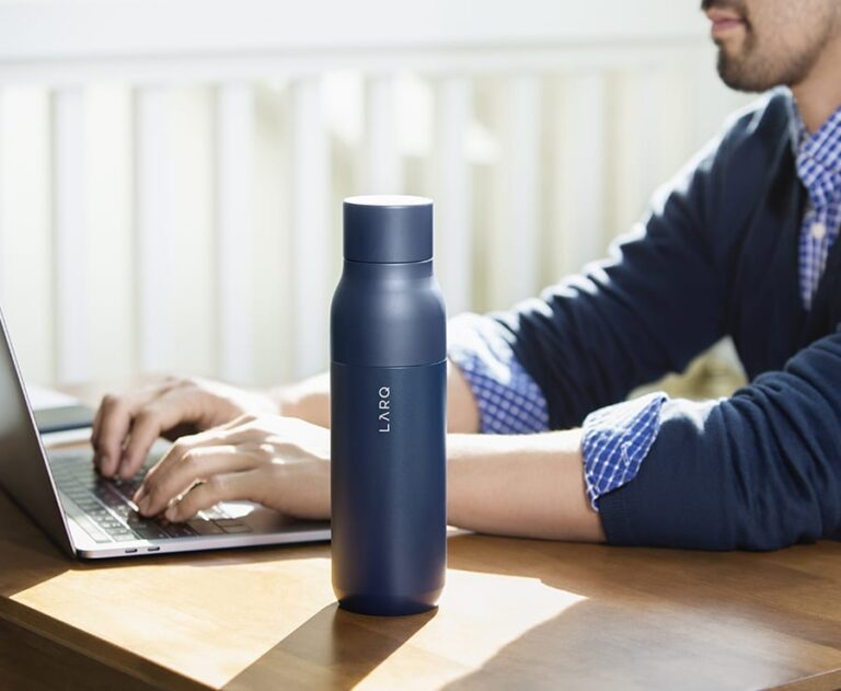 How To Purify Water Anytime Anywhere With LARQ Bottle PureVis