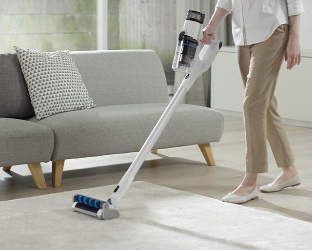 The Best Cordless Stick Vacuum That Cleans And Sanitizes Everything!