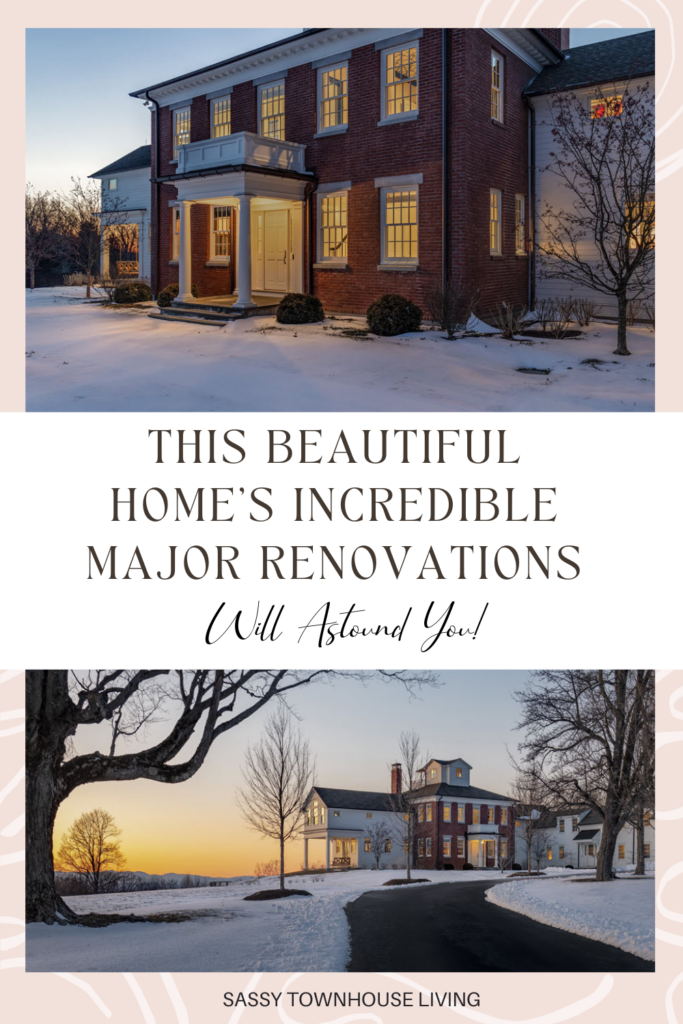 This Beautiful Home's Incredible Major Renovations Will Astound You - Sassy Townhouse Living