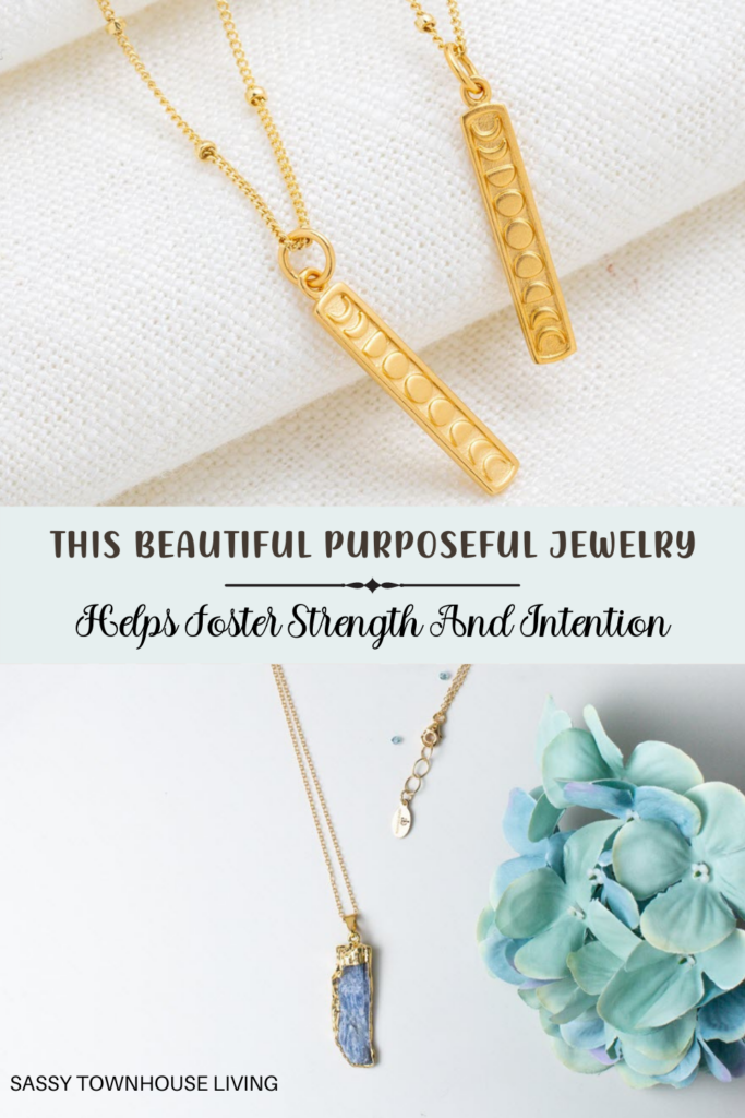 This Beautiful Purposeful Jewelry Helps Foster Strength And Intention - Sassy Townhouse Living