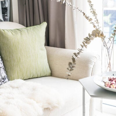 4 Easy & Inexpensive Home Decorating Ideas For A Fresh New Look! FEATURED