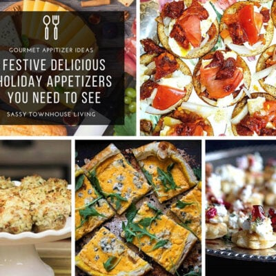 4 Festive Delicious Holiday Appetizers You Need To See FEATURED