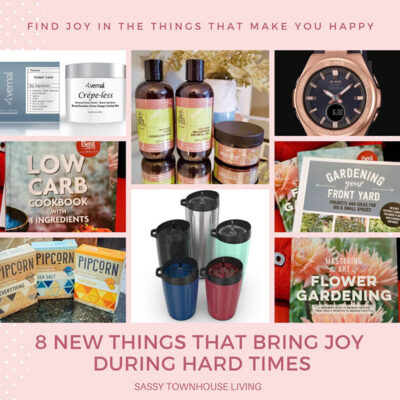 8 Products That Bring Me Joy During Hard Times FEATURED