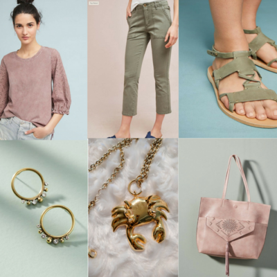 A Fun Casual Summer Outfit For Work Or Weekends On Sale! Featured
