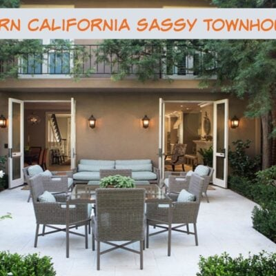A Southern California Sassy Townhouse Tour - Sassy Townhouse Living