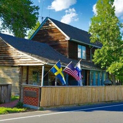 America's Oldest Log Cabin Historic Home Tour feature