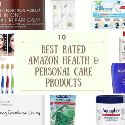 Best Rated Amazon Health & Personal Care Products featured