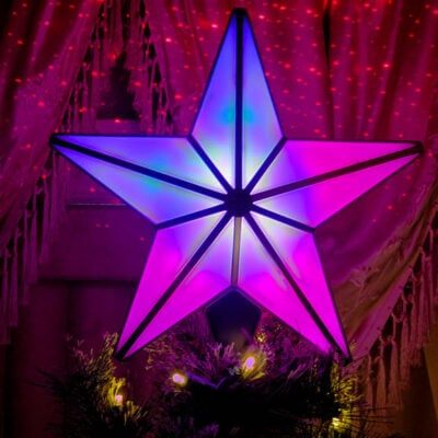Blisslights Laser Christmas Tree Topper Is Simply Stunning FEATURED